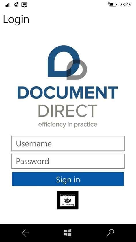 Document Direct for Windows 10 - Free download and
