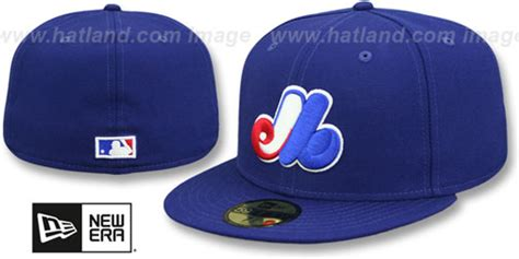 Montreal Expos HOME Fitted Hat by New Era at hatland