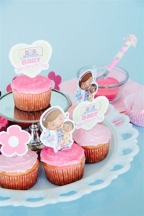 Baby McStuffins Cupcake Toppers   Disney Family