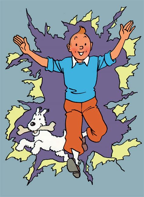 HAPPY NEW YEAR 2016 From Tintin and his friends