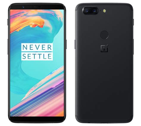 OnePlus 5T official, features 6