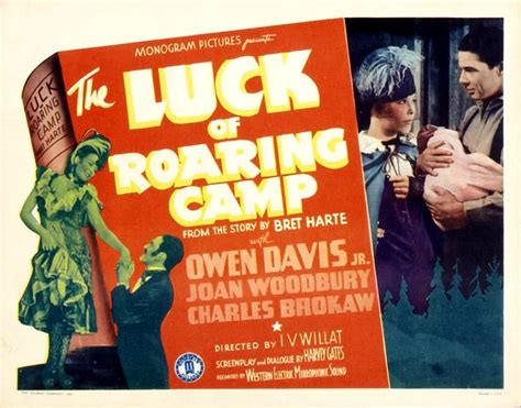Luck of Roaring Camp - Irvin Willat - 1937 - Western
