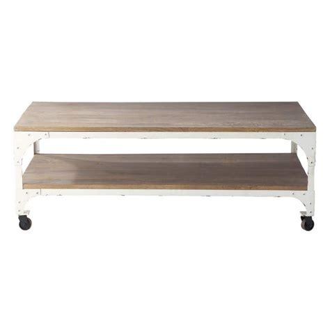 table basse a roulettes