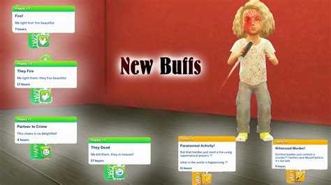 New Buffs image - Deadly Toddlers mod for The Sims 4 - Mod DB