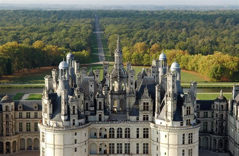 Château of Chambord - Loire chateaux and other visits
