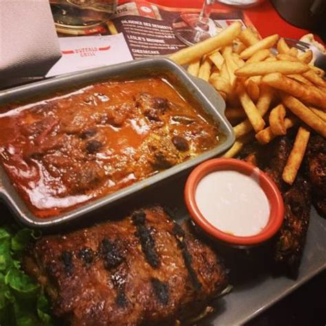 Family meal - Review of Buffalo Grill, Valence, France