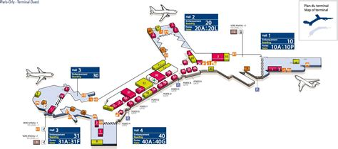 Plan Orly Ouest - Carte Orly Ouest (France)