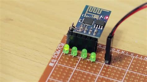 How to add more GPIOs to ESP8266 (ESP-01) - YouTube