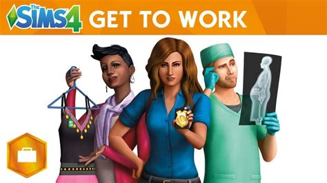 The Sims 4 Get to Work in the game's first expansion   PC