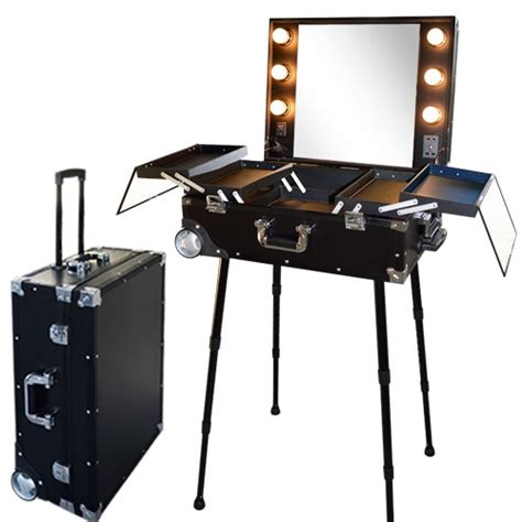 Valise studio make up trolley, Table de maquillage