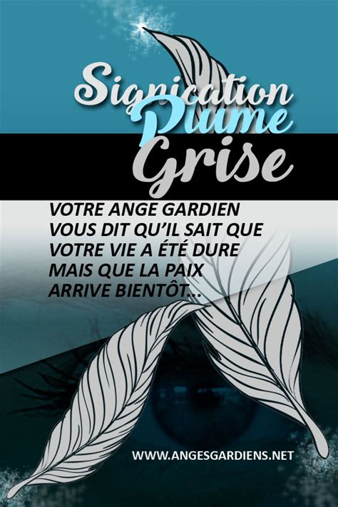 Signification plume grise