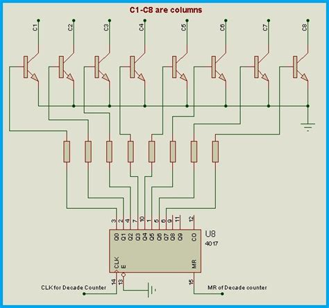 Bluetooth Based Programmable LED Message Board Circuit