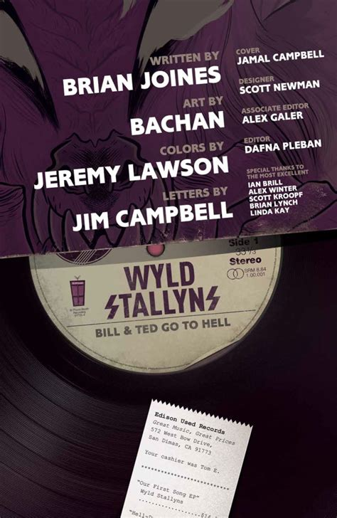 ComicList Preview: BILL AND TED GO TO HELL TP
