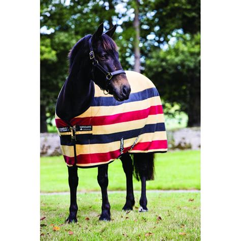 Couverture Horseware polaire Rambo newmarket - Couvertures