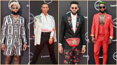The Best and Boldest Men's Fashion on the 2018 ESPYs Red