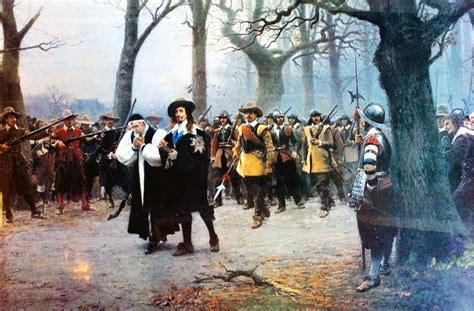 Charles I Execution Precession by Ernest Crofts | Thirty