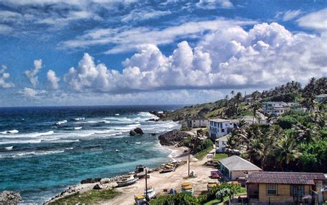 barbados   Barbados is a coral island, pushed out of sea