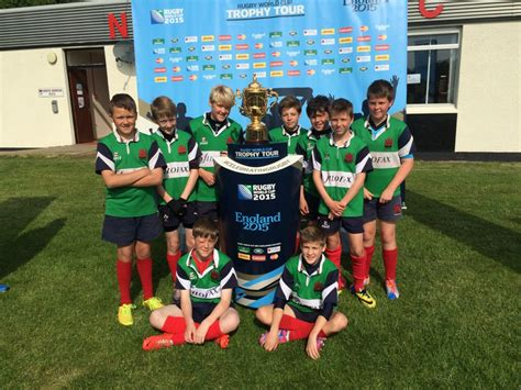 Rugby World Cup visits North Berwick | Dunbar Primary School