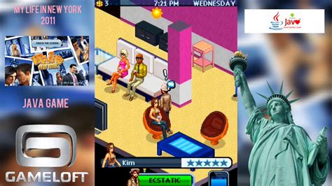 My Life in New York (2011) Java Game Play on android - YouTube