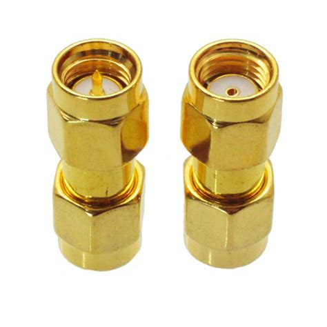 SMA Male to RP-SMA Male Adaptor RF Connector Straight