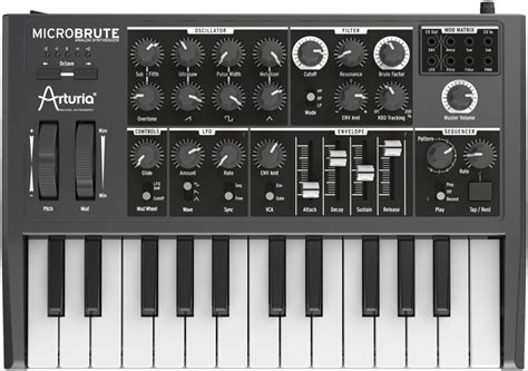 Arturia MicroBrute Review : Genetically gifted! - Audiofanzine