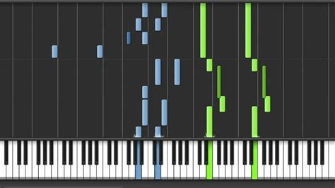 Synthesia - Cosmo Canyon (FF7 Piano Collections) - YouTube