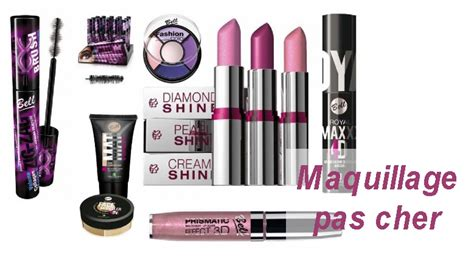 Site maquillage pas cher