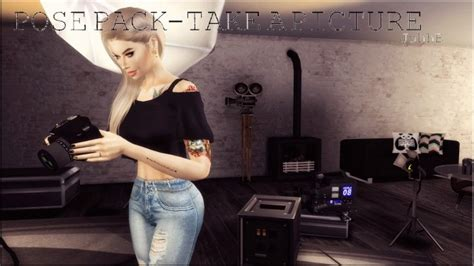 Camera Nikon ACC + POSE PACK at Victor Miguel » Sims 4 Updates