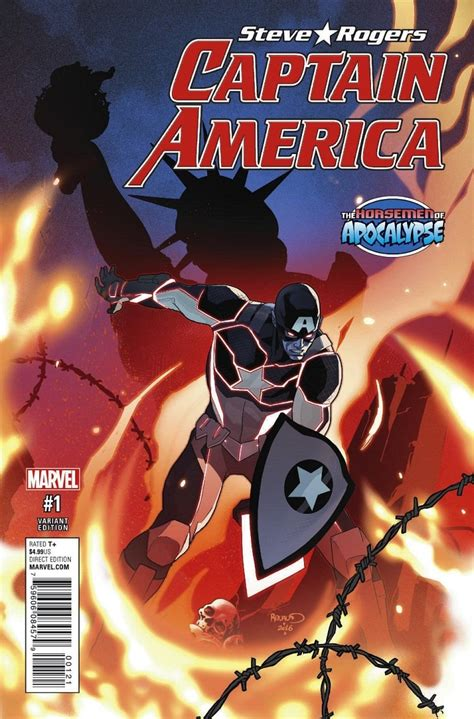 First Look at Captain America: Steve Rogers #1 - Coming in May