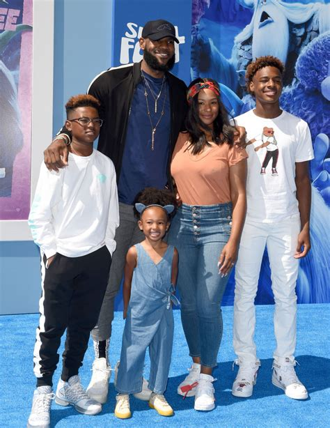 How LeBron James' Children, Bronny, Bryce, and Zhuri, Are