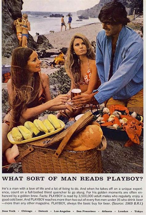 These Retro Playboy Ads Are The Definition Of Cool - Airows