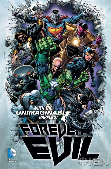 DC Unleashes Forever Evil, Trinity War Teasers - IGN