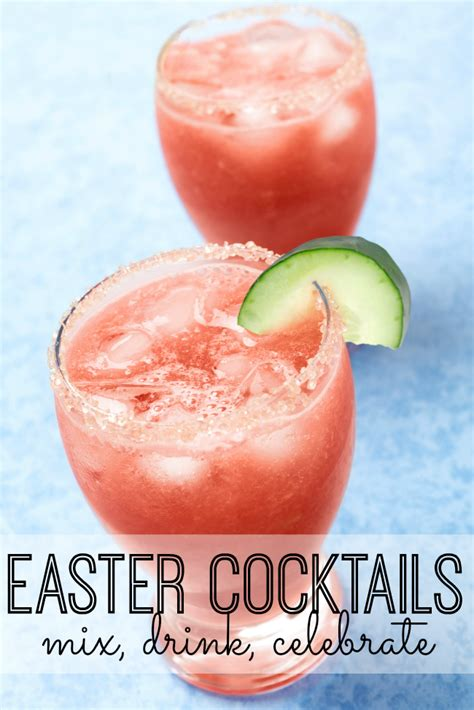 Delicious Easter Cocktails Recipes - My Life and Kids