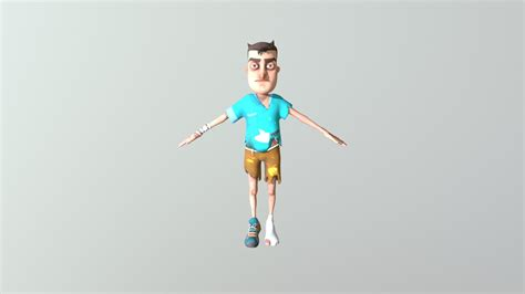 Hello Neighbor Kid Player - Download Free 3D model by