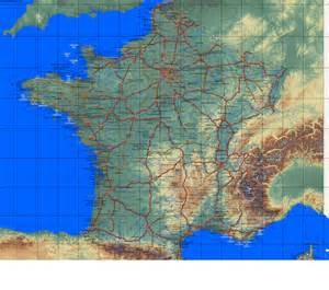 Country maps France